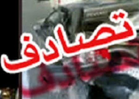 ٩ مصدوم در یک حادثه تصادف در محور تهران – قم