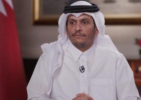 گفتوگوی وزیر خارجه قطر با «زلمای خلیلزاد» و رئیس دفتر سیاسی طالبان