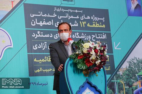 ۹۰درصد فاز دوم خیابان آزادگان (دستگرد) آزادسازی شده است